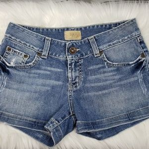 BKE Distressed Jean Shorts